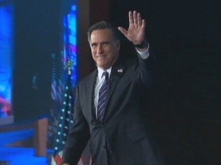 Watch: Mitt Romney Returns Home