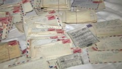 VIDEO: Hundreds of letters between husband and wife bring back memories once forgotten.