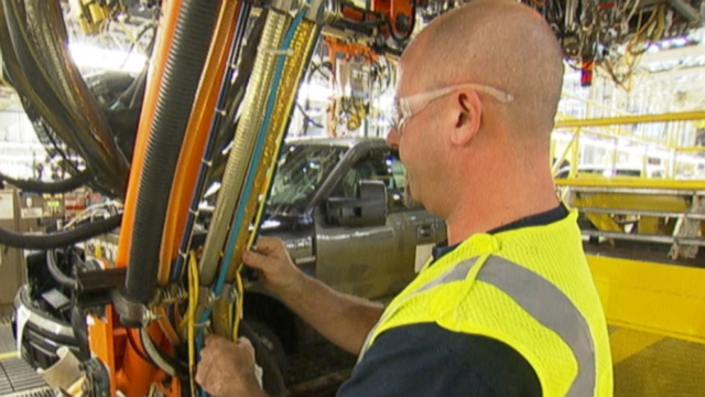 VIDEO: Number one U.S. automaker planning to pump $1.3 billion into plants, which means more jobs.