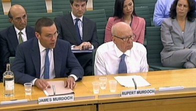 VIDEO: Rupert Murdoch and son James testimony will decide media empires fate.