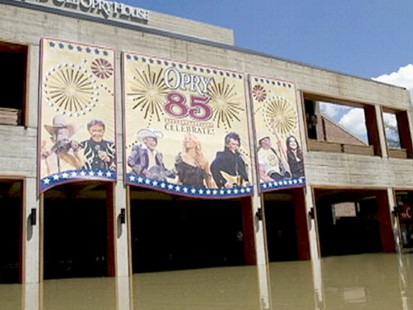 VIDEO: Floods have destroyed countless homes and left the Grand Old Opry underwater.