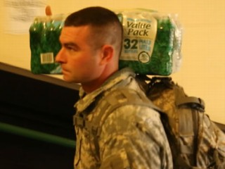 Watch: Hurricane Sandy Relief: National Guard Delivers Supplies to Stranded Senior Citizens