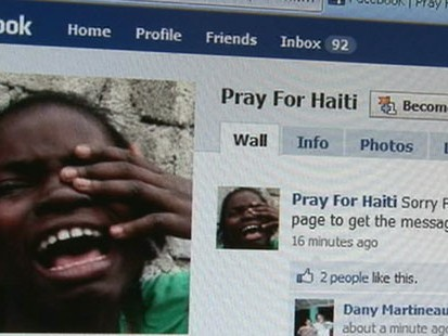 VIDEO: Haiti Quake Devastation, Hope Spreads Online