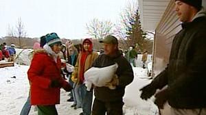 VIDEO: Waterlogged Fargo Braces for Crest