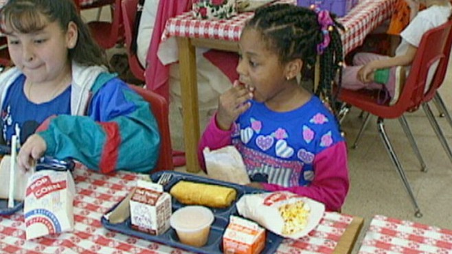 VIDEO: The House is set to vote on a child nutrition bill.
