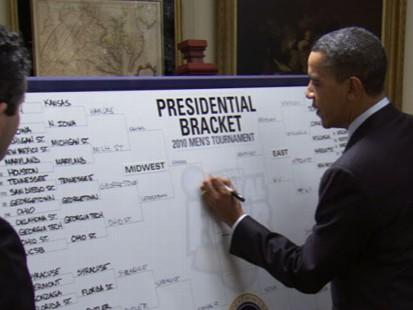 VIDEO: Obamas NCAA Picks