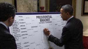 VIDEO: Obamas NCAA Picks