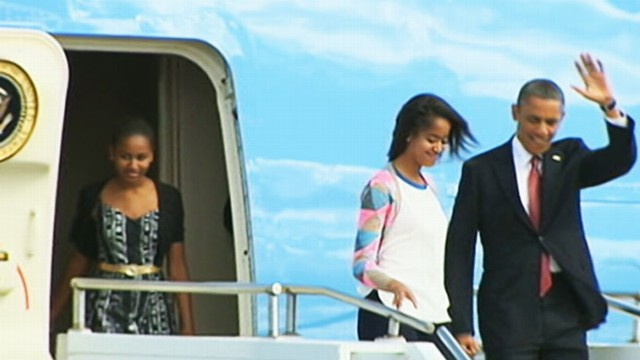 VIDEO: President dances, scheduled to meet with President Bush Tuesday.