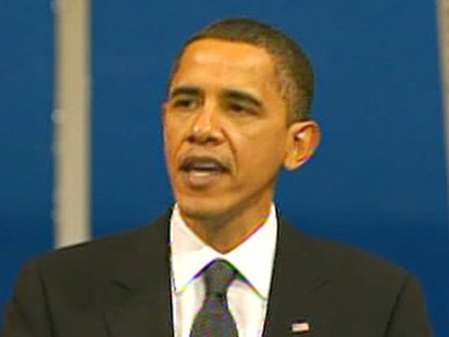 VIDEO: Obama acknowledges regrettable necessity of war as we strive for peace.
