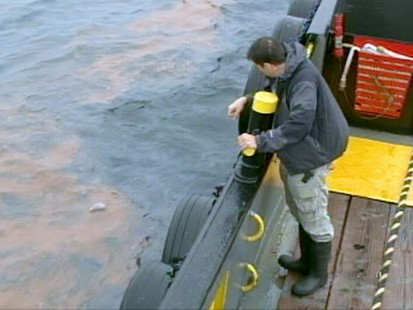 VIDEO: Officials still dont know how much oil is spilling into the Gulf waters.