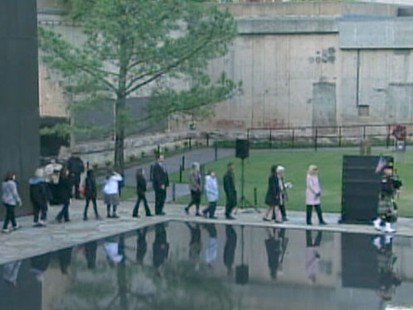 VIDEO: Oklahoma City remembers the terrorist bombing of the Murrah Federal Building.