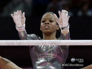 Watch: London 2012 Gymnastics: Gabby Douglas Falters