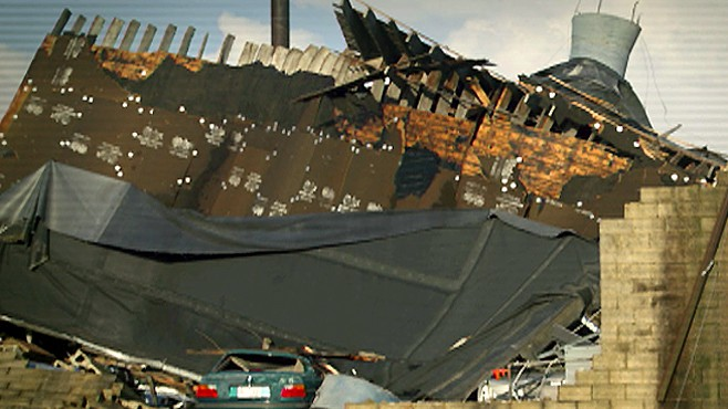 Deadly Twisters Hit N.C.