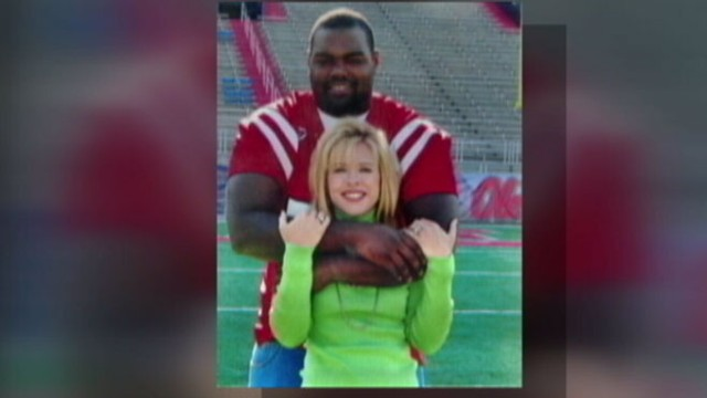 "VIDEO: The story that inspired ""The Blind Side"" has a real-life happy ending."