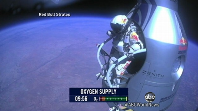 VIDEO: What was it like in the suit during the record dive at 800 miles an hour?