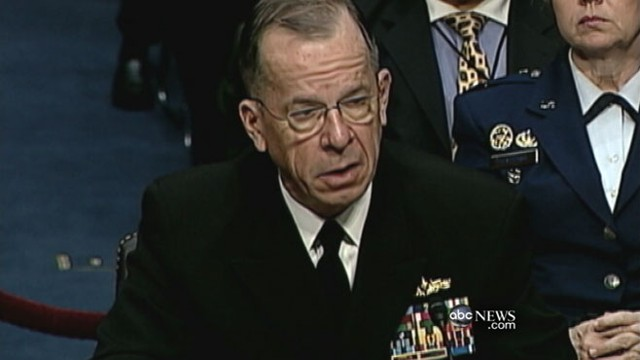 VIDEO: Adm. Mike Mullen accuses Pakistans spy agency of assistin