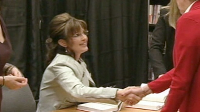 VIDEO: Sarah Palin criticizes Bush