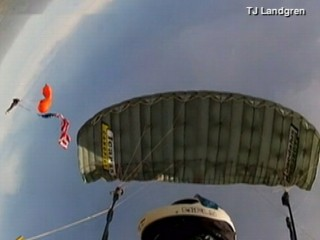 Watch: Skydiver's Terrifying Freefall Caught on Camera