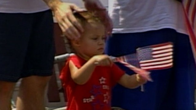 VIDEO: New study suggests patriotic parades influence children's political views.