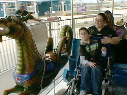 VIDEO: A Texas man creates the first large theme park for people with special needs.