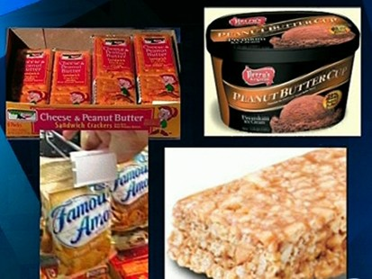 VIDEO: peanut butter salmonella outbreak