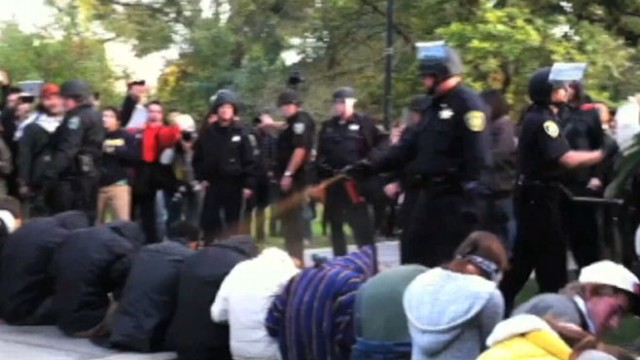 VIDEO: Police face increased scrutiny over security methods used against protesters.