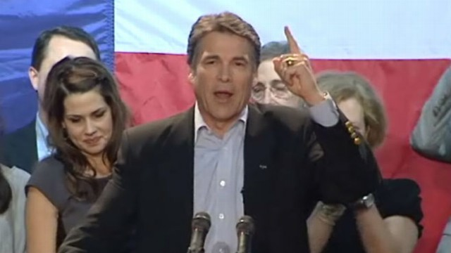 VIDEO:  The Texas governor's political record is getting a lot more attention.