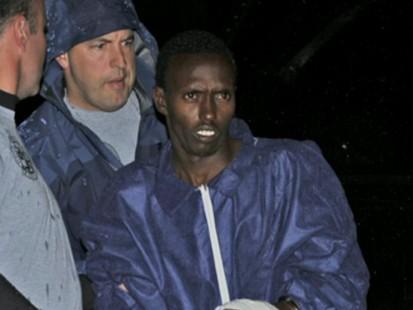 VIDEO: Somali pirate faces U.S. law