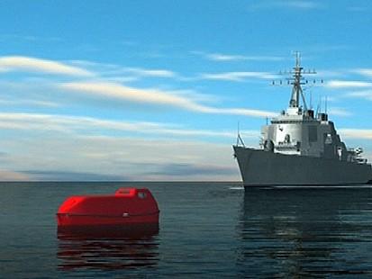 VIDEO: Navy, FBI Monitor Pirate Hostage Crisis