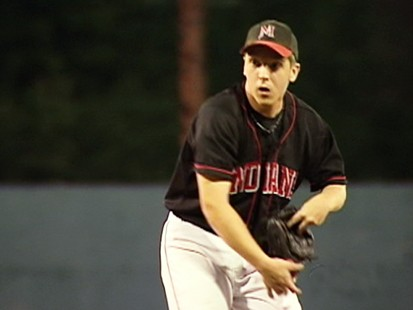 VIDEO: Mark Selvaka pitches with cerebral palsy.
