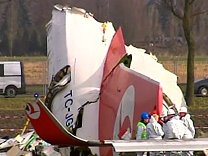 VIDEO: Turkish Air Crash
