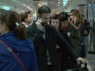 Watch: Hurricane Sandy: Air Travel Shuts Down on East Coast