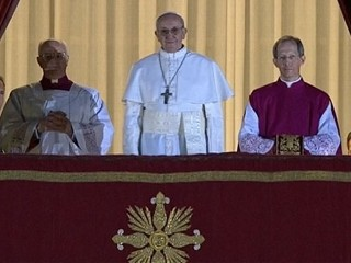 Watch: Cardinal Jorge Mario Bergoglio Now Pope Francis