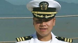 VIDEO: Vietnam refugee becomes U.S. Navy captain