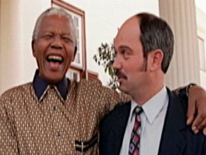 VIDEO: The unlikely friendship between Mandela and the man who kept him prisoner