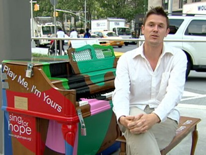 VIDEO: Putting pianos in busy public spaces has surprising results.