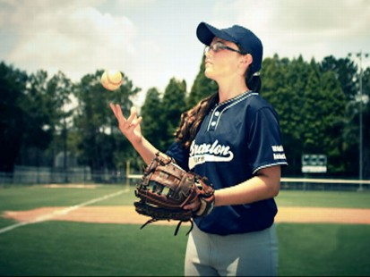 "VIDEO: This 13-year-old is bringing new meaning to the phrase ""throw like a girl."""