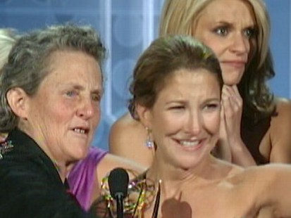 VIDEO: Temple Grandins story was turned into an HBO movie that won seven Emmys.