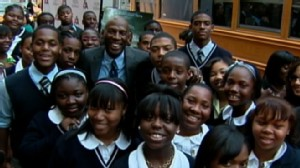 VIDEO: Geoffrey Canadas use of education to fight poverty revitalizes part of Harlem.