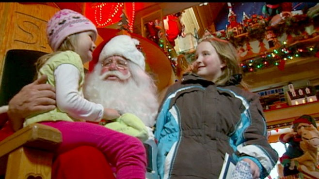 VIDEO: The preparation to be a mall Santa on tonight?s person of the week.
