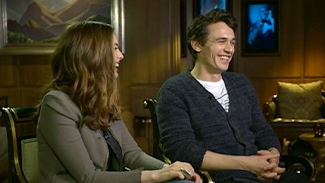 VIDEO: James Franco and Anne Hathaway represent the new generation of film stars.