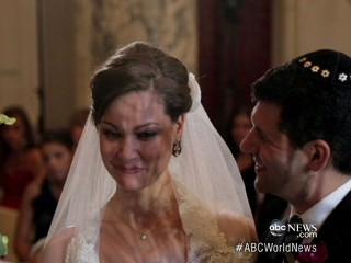 Watch: Bride Who Survived Rape Walks Down the Aisle