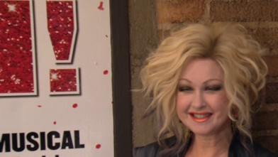 VIDEO: Eighties pop music icon Cyndi Lauper may be the first woman to win a Tony for best original score.
