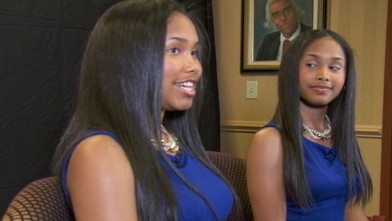 VIDEO: Sisters share their story of hard work to become co-valedictorians at graduation.