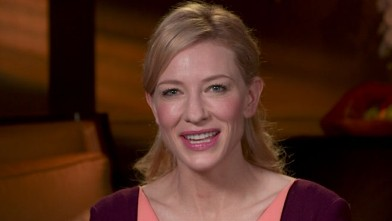 VIDEO: Hollywood A-listers like Diane Keaton, Scarlett Johannsen make room for Blanchett.