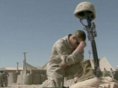 VIDEO: Over 20 percent of service members report psychological distress.