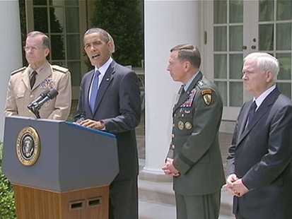 VIDEO: Obama on Command Change: We Will Not Miss a Beat