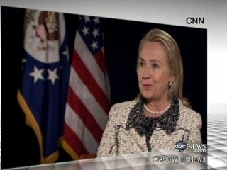 Watch: Hillary Clinton Takes Fall for Libya