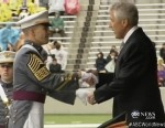 VIDEO: Hagel offers stern remarks on recent sexual assault controversy to West Point grads.