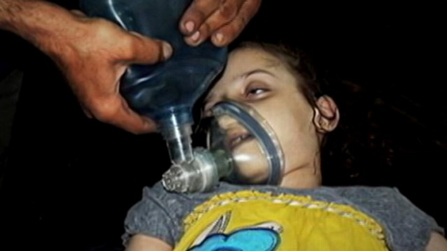 VIDEO: The White House reacts to images that may suggest the Syrian regime is using chemical weapons.